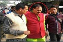 former mp umakant yadav sent to jail