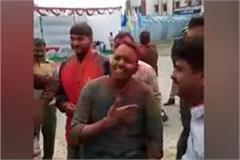 shamli sp vineet jaiswal s dance video viral