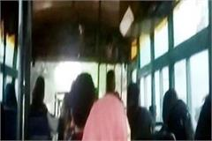 hrtc buses travel difficult passengers forced to stand and travel