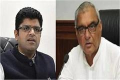 fierce debate between hooda and dushyant