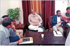home minister took a meeting of department officials