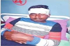 controversy over dog barking one injured