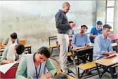 officers reached the spot on the first day of board examinations