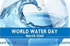 world water day 20 liters of water to wash hands to avoid corona