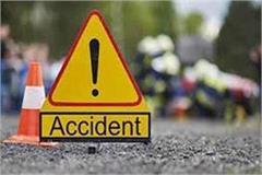 dumper collision killed bike rider another injured