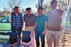 2 young men of sirsa including 150 grams of heroin