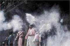 mahadev played chita bhasma holi with ghosts