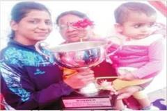with family members daughters can touch the sky sunita wins