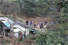 private bus full passengers overturn shahdol 12 people injured accident