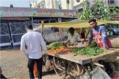 impact corona virus devotees not reach temples on 1st day chaitra navratri