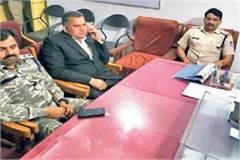 police rage house bjp mla arvind bhadoria mp elder brother question