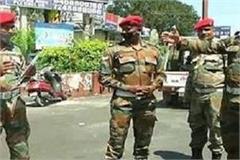 meerut army alert on getting corona positive patient