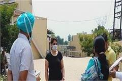 patiala health department tests the girl who returned from canada