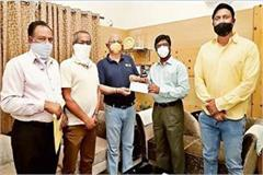 jharkhand cricket association gave rs 51 lakh to chief minister relief fund