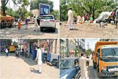 cm shivraj took to the road amid lock down