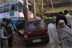 bus crashes many riders injured