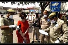 agra foreign woman evacuated from hotel due to corona apprehension