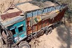 truck accident in kangra