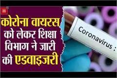 alert in mp regarding corona virus