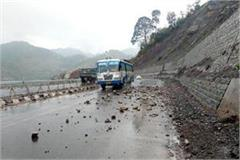 landslide on kalka shimla nh