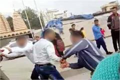 high voltage drama of husband and wife at una bus stand