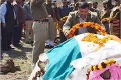 bsf deputy commandant cremated with state honor