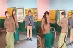 sapna chaudhary s song had to be put on heavy dance four teachers suspended