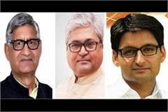uncontested elections decided on all three seats of haryana