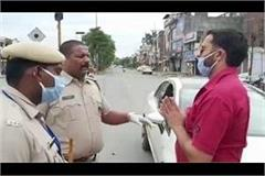 a man told himself policeman started begging sorry after revealing