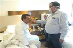 corona test floor test mp team doctors arrived samples 85 mlas return jaipur