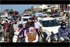 haryana punjab border sealed as imposed curfew