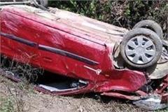 car falls in gulog kunihar road seven injured