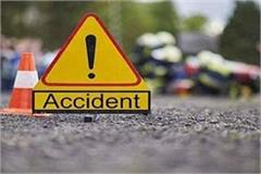 tragic road accident jeep collided activa motorcycle 4 killed 2 injured