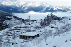 heavy snowfall again in shikari devi and kamarunag