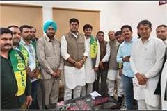 congress party got a big shock councilor krishna joined jjp