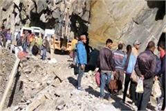 landslide on chamba bharmaur nh