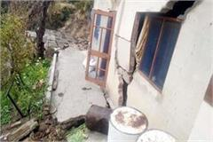 cracks in house cowshed collapsed
