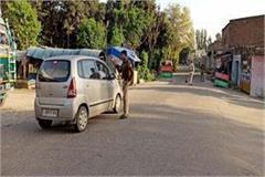 administration alert on curfew people irresponsible