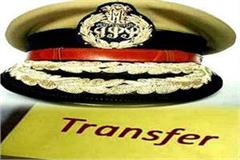yogi government transfers 43 ips officers