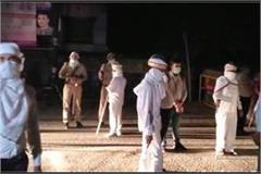 police administration team attacked in rampur case filed for lockdown violation