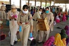 police buy masks for poor from their pocket