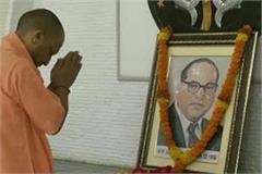 baba saheb worked for human welfare even under adverse circumstances yogi