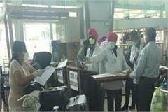 private university jalandhar corona patient