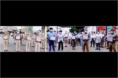 all police stations in mohali saluted the bravery of sub inspector