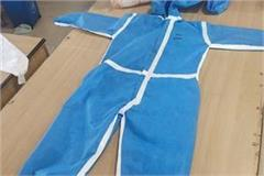 ppe kit prepared in jagadhari workshop to be a safety shield in corona war