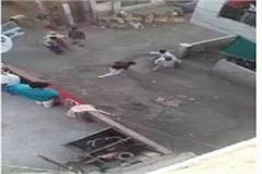 corona warriors attack indore people gather threw stones policemen