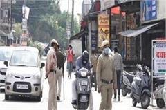 police strictness in lockdown