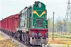 impact of lock down rack of goods trains increased transportation