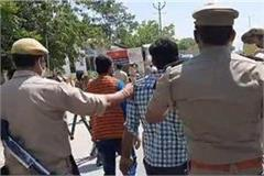 39 people arrested in bareilly for assaulting police case registered