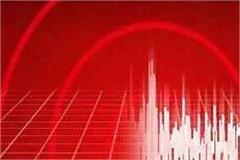 earthquake tremors felt in chamba